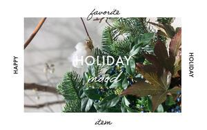 Holiday mood -EPOCA THE SHOPよりホリデーギフトのご紹介-