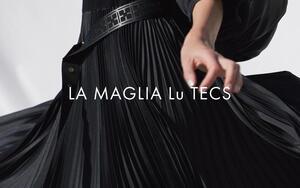 リラックスした空間に寄り添う、ジャージー素材のNEWシリーズ 「LA MAGLIA Lu TECS」