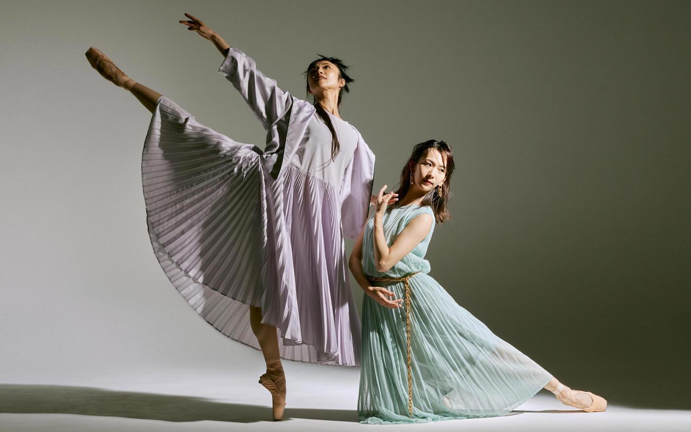 EPOCA MEETS BALLET / バレエダンサーの洗練された動きが体現するエポカの新たなエレガンス
