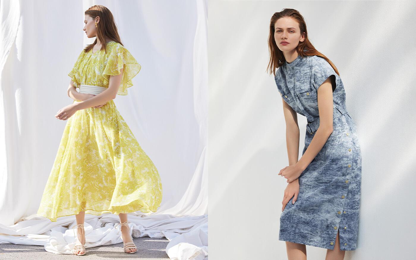 Urban Dress Style  爽やかに纏う洗練のドレススタイル