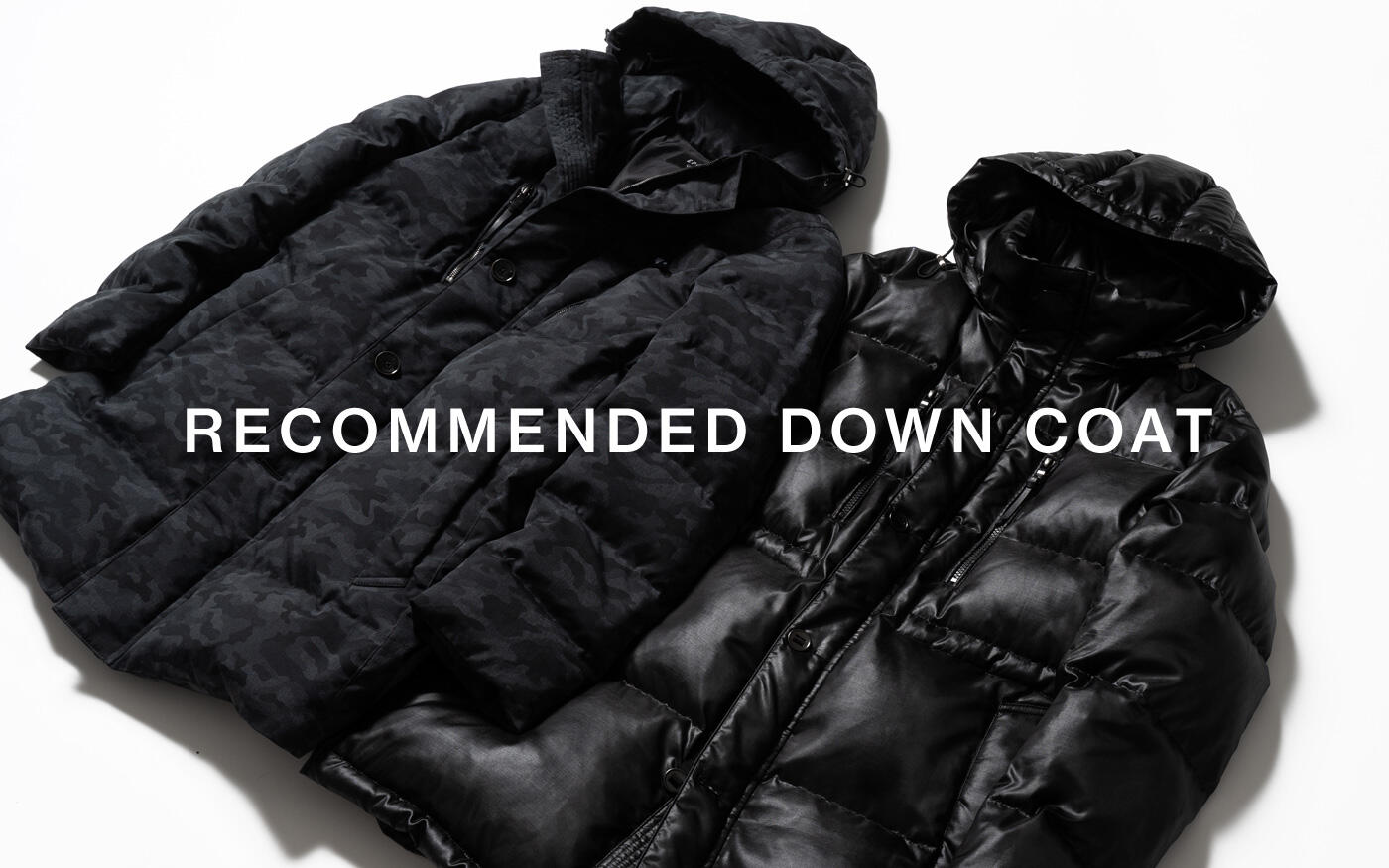 RECOMMENDED DOWN COAT